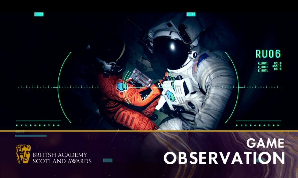 Observation NoCode: BAFTA Scotland Awards 2019 Games NoCode