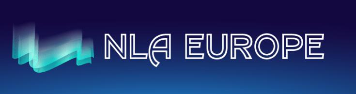 NLA Europe Logo. Dundee Esports Arena