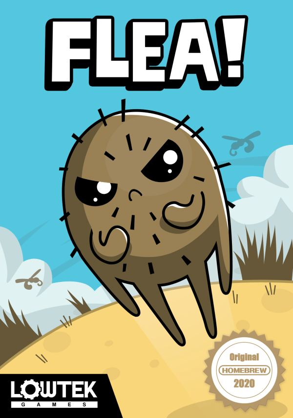 Flea - Out Now from Lowtek Games