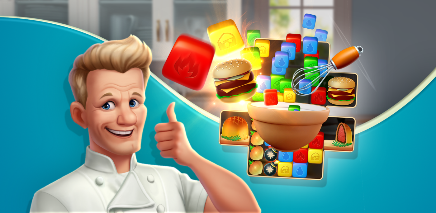 Gordon Ramsay's Chef Blast OUT NOW From Outplay Entertainment & IDreamSky