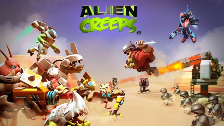 Alien Creeps - Tower Defence