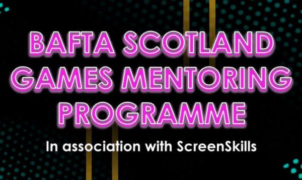 BAFTA Scotland Games Mentoring Programme Logo