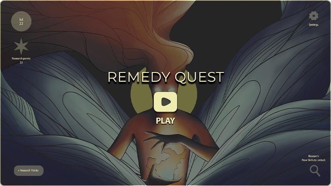 Game Dr. Remedy Quest splash screen.