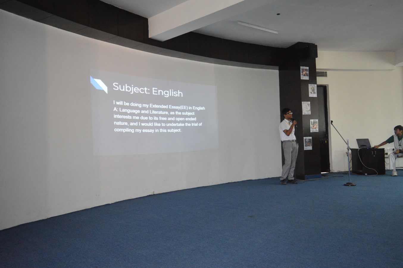 Extended Essay Presentation by Grade XI IBDP students (1)