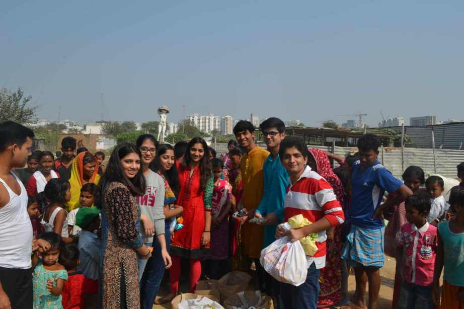 A donation drive initiated by the Scottish High student council (4)