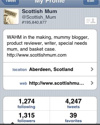 @scottish_mum / My Top 5 Reasons for Twittering
