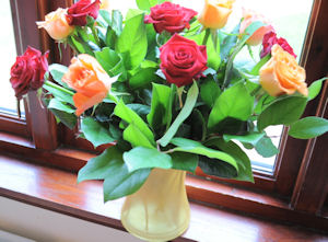 A Lovely Bunch of Flowers for a Lovely Lady