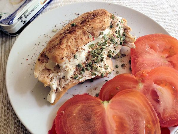 Lactofree Cream Cheese Stuffed Chicken Breast – (Bag Roasted)