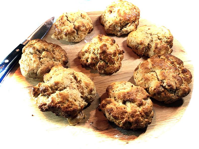 coconut-protein-scones