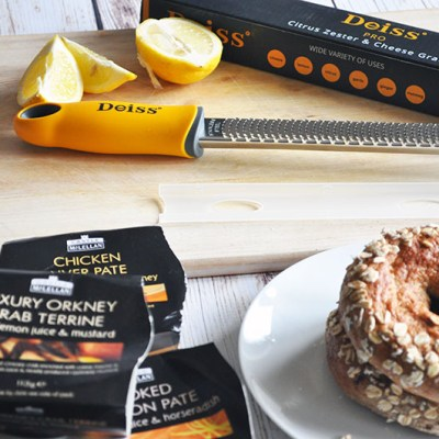 Deiss Pro Citrus Zester & Cheese Grater and Castle McLellan Pate