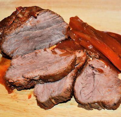 Fillet Steak, Bag Roasted in Red Wine