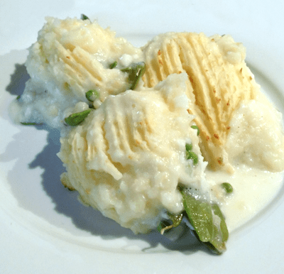 Haddock & Mange Tout Fish Pie Recipe
