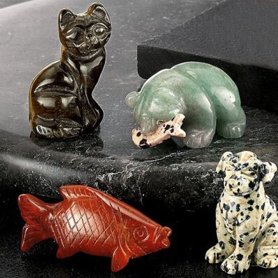 Giveaway:  Win A Set of 4 Gemstone Animals – Ends 10th December 2015