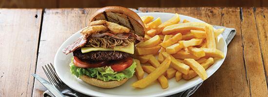 Harvester Burger