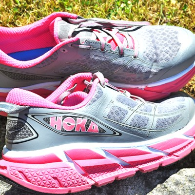 I cut my expensive Hoka Clifton 2 running shoes – yes I did!