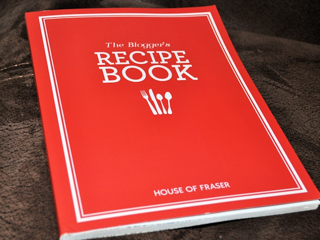 House of Fraser Blogger Recipe Book 1