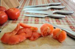 Knife Set Tomatoes