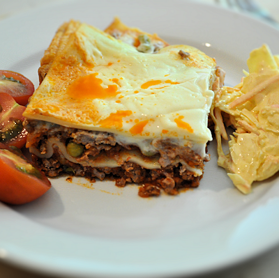 Quick and Easy Mince & Baby Sweetcorn Lasagne