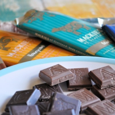 Mackie's, now sell chocolate.  Yes, they do.  Not just lush ice-cream. (Review)