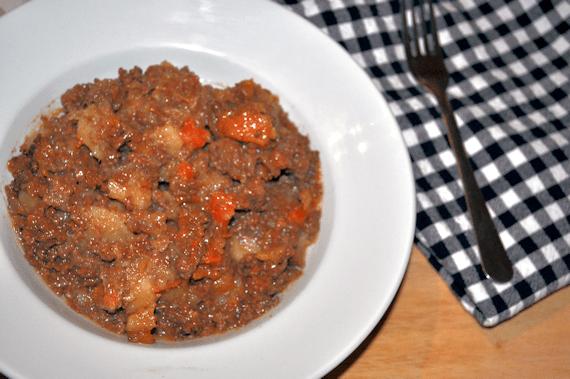Slow Cooked Mince, Neeps & Tatties.  Alternative Burns Night Supper
