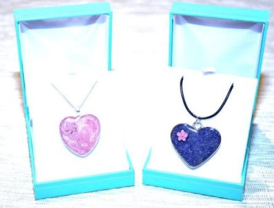 Pendants Pink and  Purple
