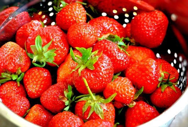 Plot Strawberries