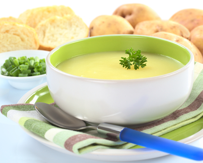 Soup Maker Recipe:  Cream of Potato and Leek Soup 1.6 Litres