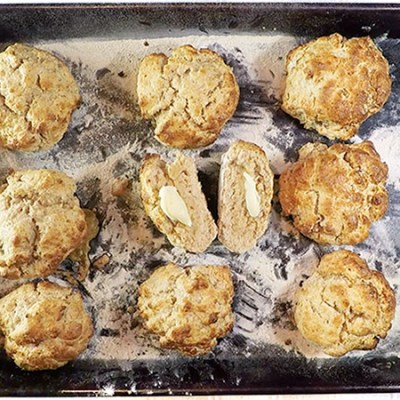 How to make Coconut Protein Scones – 32g Protein Each