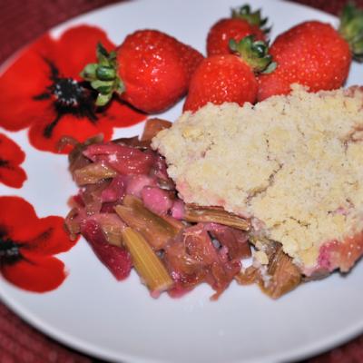 How To Make Rhubarb Crumble