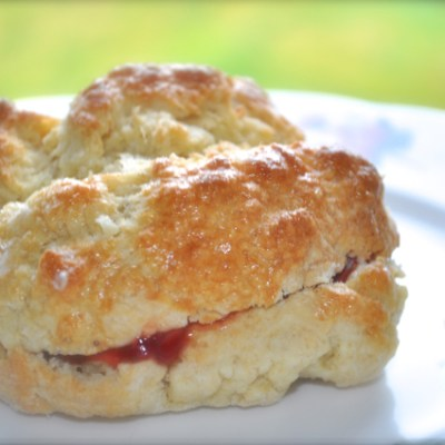 Imperfect, but tasty and quick scones.