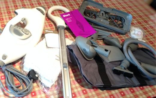 Shark Steam Mop Contents