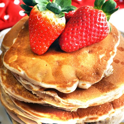 Happy Pancake Day 2016:  Strawberry Pancakes