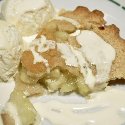 Apple Pie, Ice-Cream and Elmlea