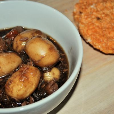 Slow Cooked Beef Stew with New Potatoes