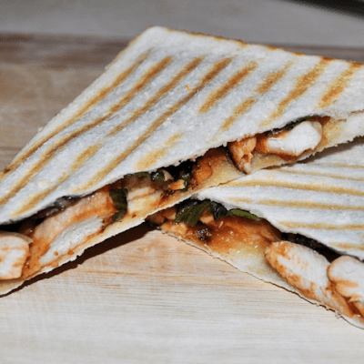 Simple Lemon Chicken Recipe for a Toasted Sandwich / Panini