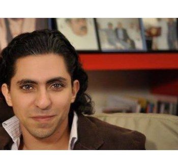 Image of Raif Badawi from his Facebook page