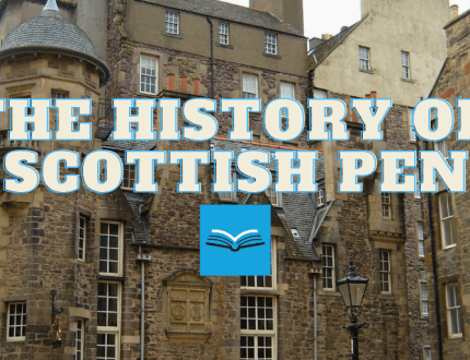 image reads 'the history of scottish pen'