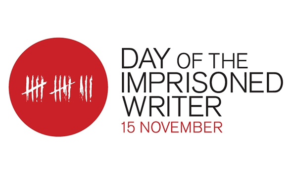 day of the imprisoned writer logo