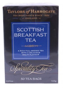 Taylors Scottish Breakfast Tea Bags in a 50 count box only $7.49.