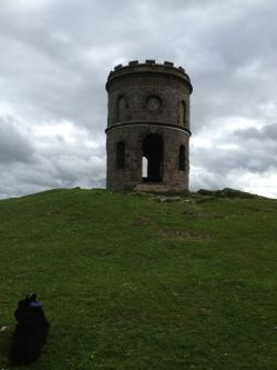 Soloman's Temple, c.1820, a restorative walk from the Spa town of Buxton