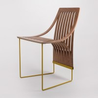 One Cut Chair - Plywood Furniture Design - Scott Jarvie