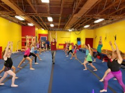 group lunge postition
