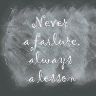 Failure phrase