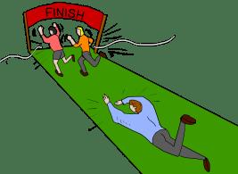 finish-line-crash