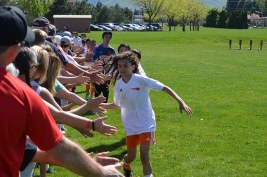 soccer high fives