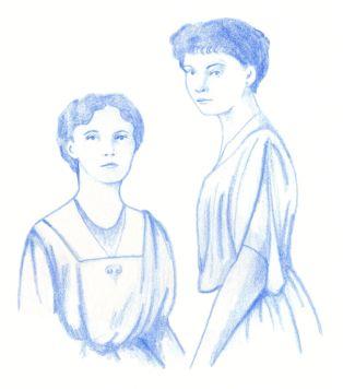 Olga and Tatiana. Scott Keenan, 2015