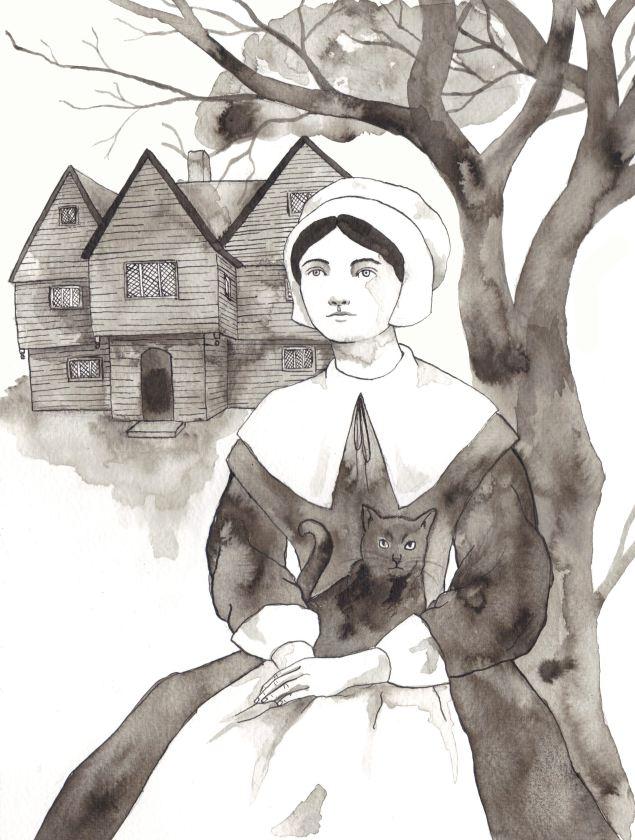 Day 25. Salem Witch. Scott Keenan, 2015