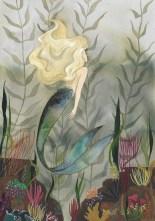 Mermaid Painting. Scott Keenan, 2016