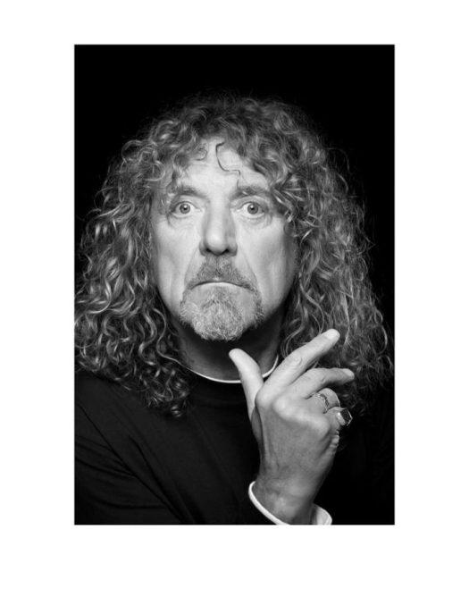 Robert Plant by Russ Harrington