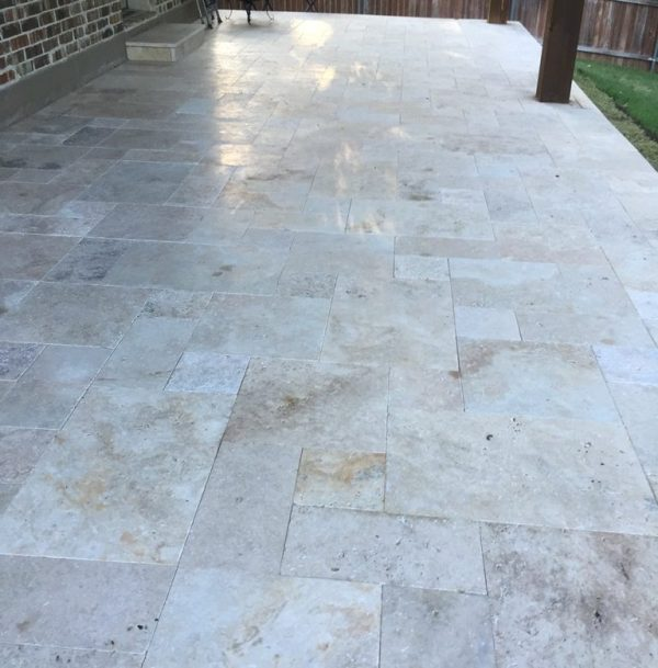 travertine pavers - scott design